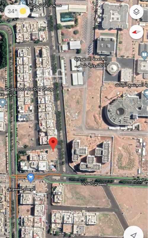 أرض للبيع في شارع زياد البصري ، حي الجامعة ، المدينة المنورة