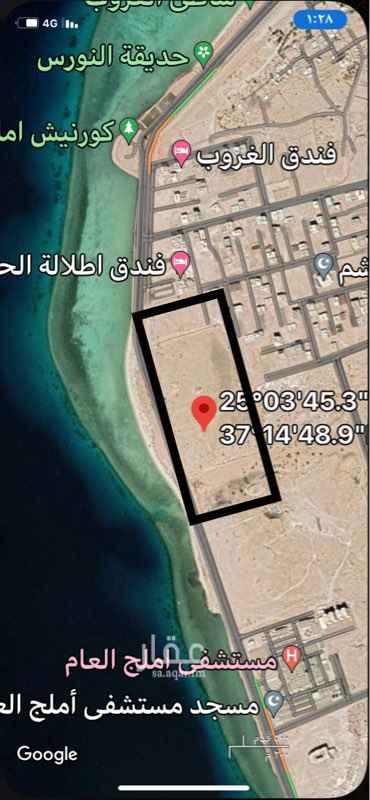 أرض للإيجار في طريق الملك عبدالله ، حي ابو شجرة ، املج ، املج