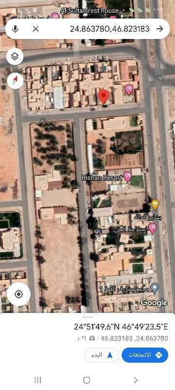 أرض للبيع في شارع مختار عطارد ، حي الرمال ، الرياض ، الرياض