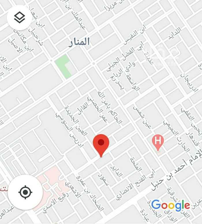 أرض للبيع في شارع الشيخ عبدالرحمن بن اسحاق بن عبدالرحمن ، حي المنار ، الرياض ، الرياض