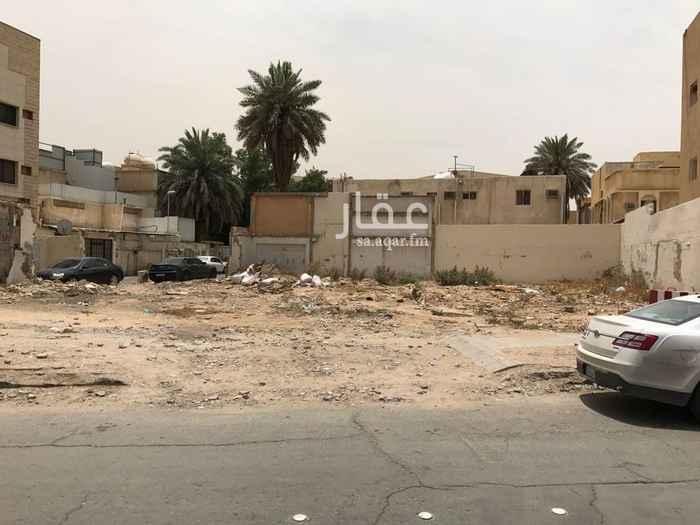 أرض للبيع في شارع ابن طاووس ، حي الضباط ، الرياض ، الرياض