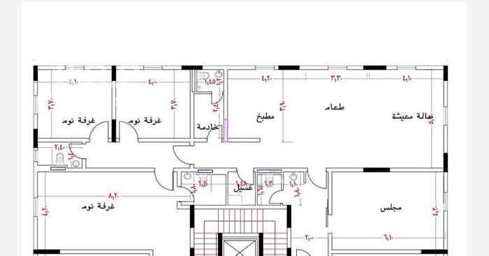 شقة للبيع في شارع سلمة بنت ثابت ، حي المنار ، جدة ، جدة