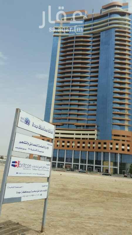 شقة للإيجار في برج ديآر البحر ، طريق الكورنيش ، حي الشاطئ ، جدة