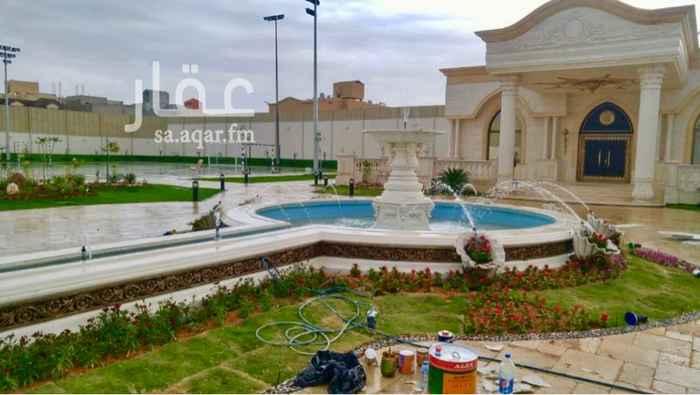 فيلا للبيع في شارع الحصير ، حي الملقا ، الرياض