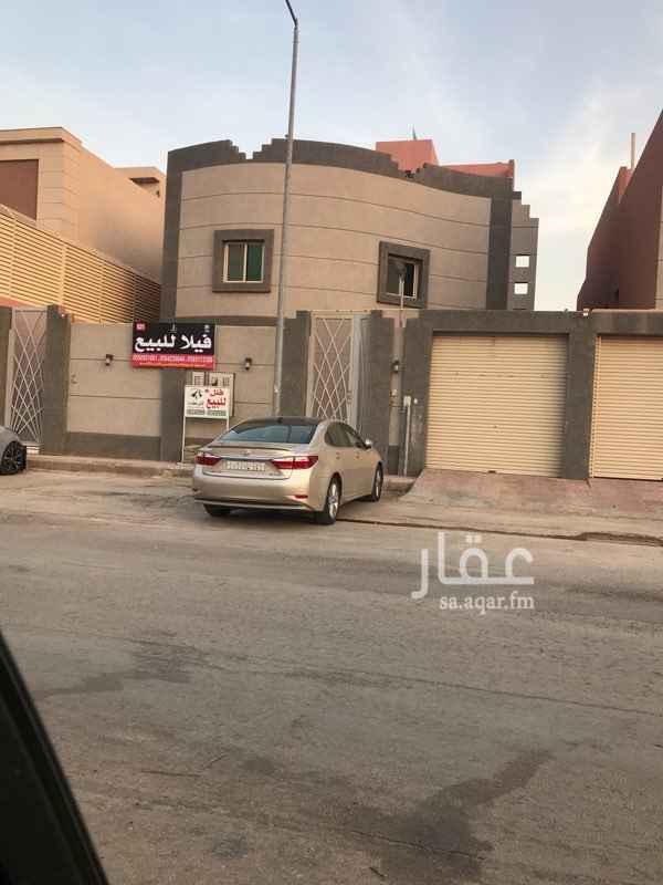 فيلا للبيع في شارع الجيب ، حي الملقا ، الرياض