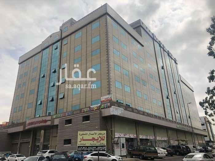 مكتب تجاري للإيجار في شارع خالد بن الوليد ، حي الشرفية ، جدة