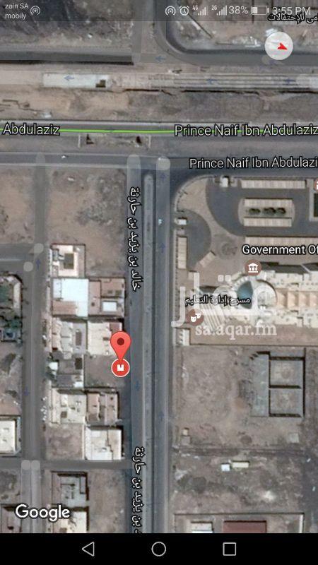 أرض للإيجار في شارع خالد بن يزيد بن حارثة ، حي الدويخلة ، المدينة المنورة