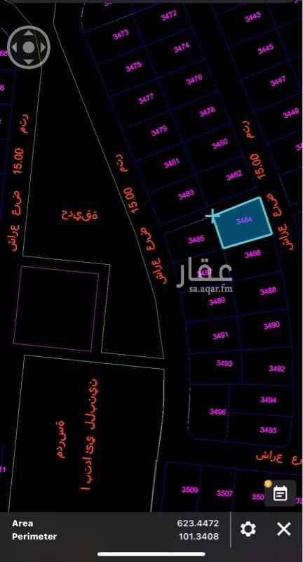 أرض للبيع في شارع الحسن بن وهب ، حي ولي العهد ، مكة المكرمة