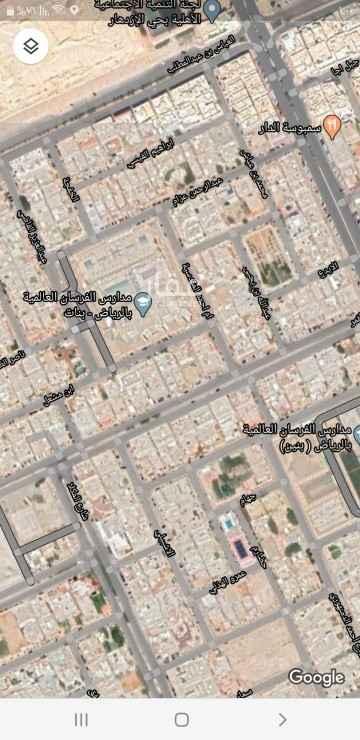 أرض للبيع في شارع القمر ، حي الازدهار ، الرياض ، الرياض