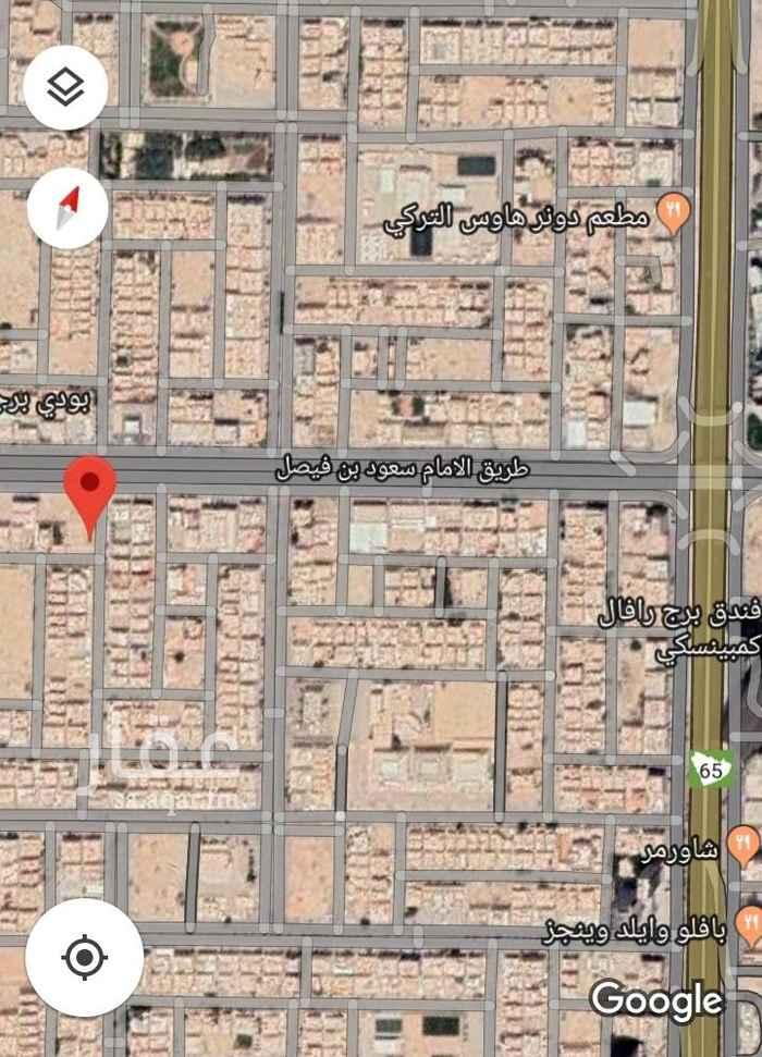 أرض للبيع في شارع وبرة ، حي العقيق ، الرياض