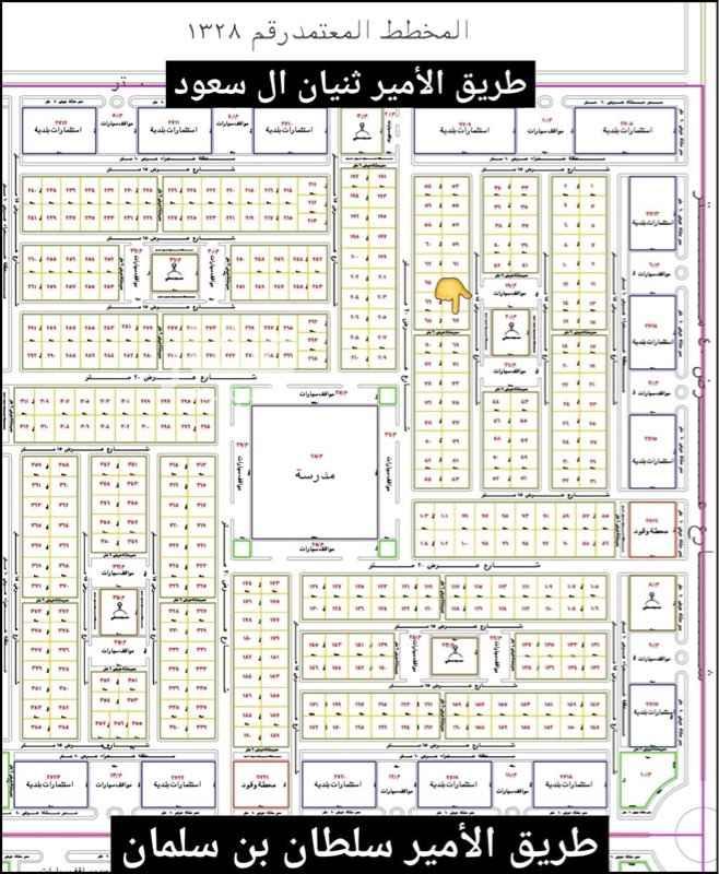 أرض للبيع في استراحة عادل ( الأجار متوقف حالياً ) ، المجمعة