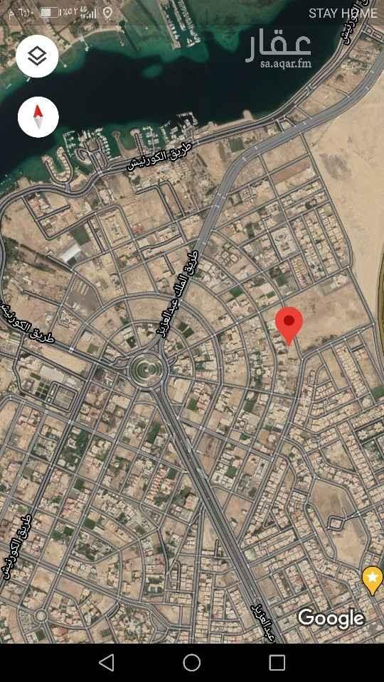 أرض للبيع في شارع علي المقوشي ، حي ابحر الجنوبية ، جدة ، جدة