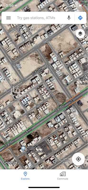 أرض للبيع في شارع ينبع ، حي ظهرة لبن ، الرياض