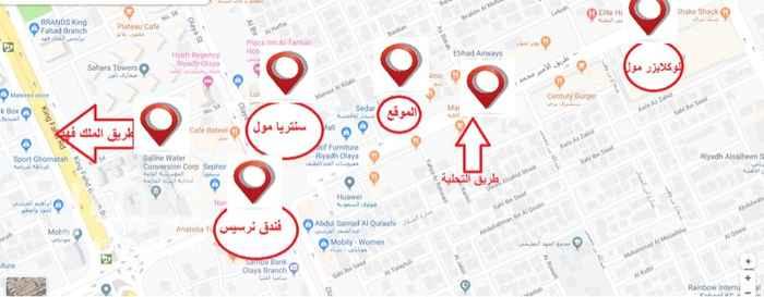 عمارة للإيجار في طريق الأمير محمد بن عبدالعزيز ، حي العليا ، الرياض