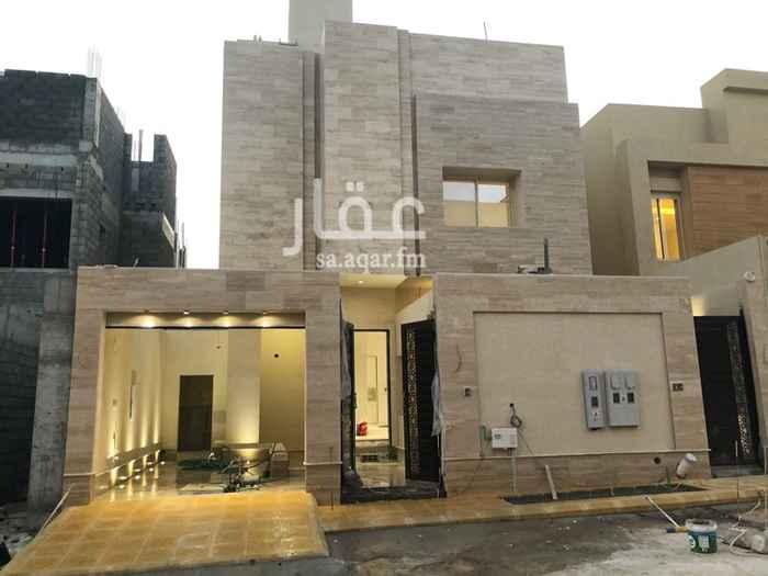 دور للإيجار في شارع المجامين ، حي الملقا ، الرياض