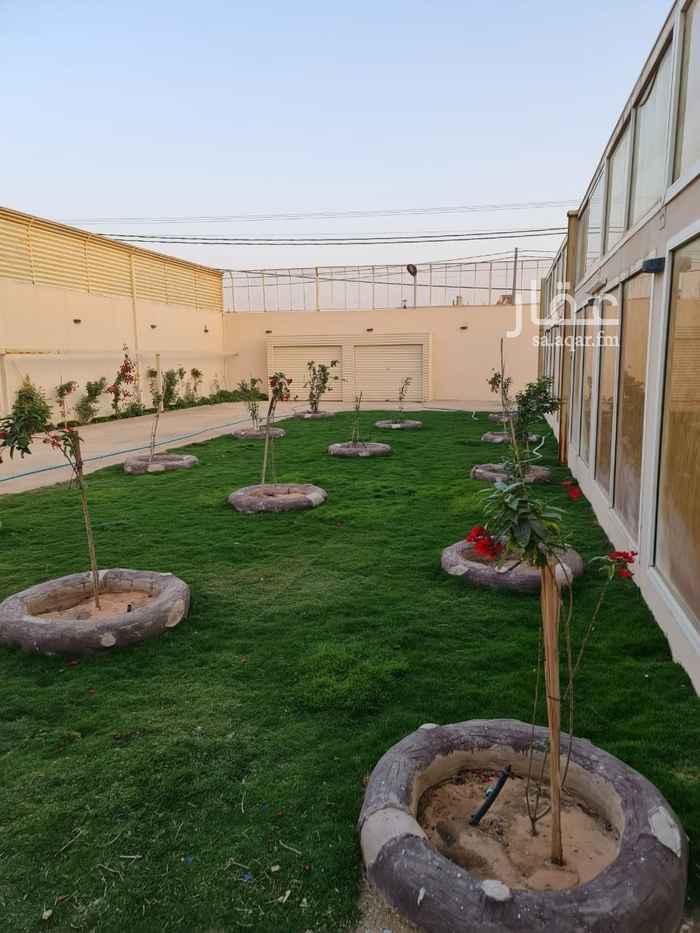 استراحة للبيع في شارع جعفر الطيار ، حي الرمال ، الرياض ، الرياض