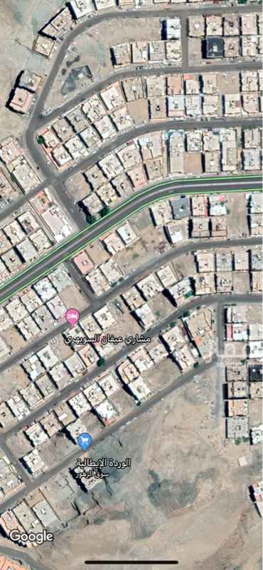 أرض للبيع في حي ولي العهد ، مكة