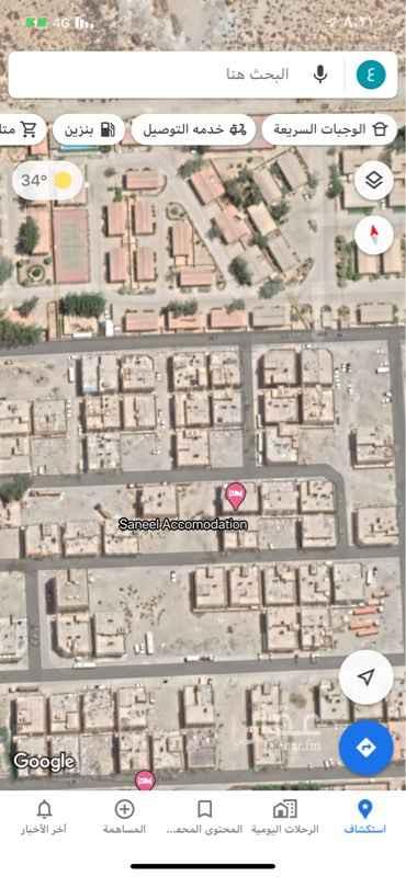 عمارة للإيجار في حي مخطط غرب المزارع ، الجبيل ، الجبيل