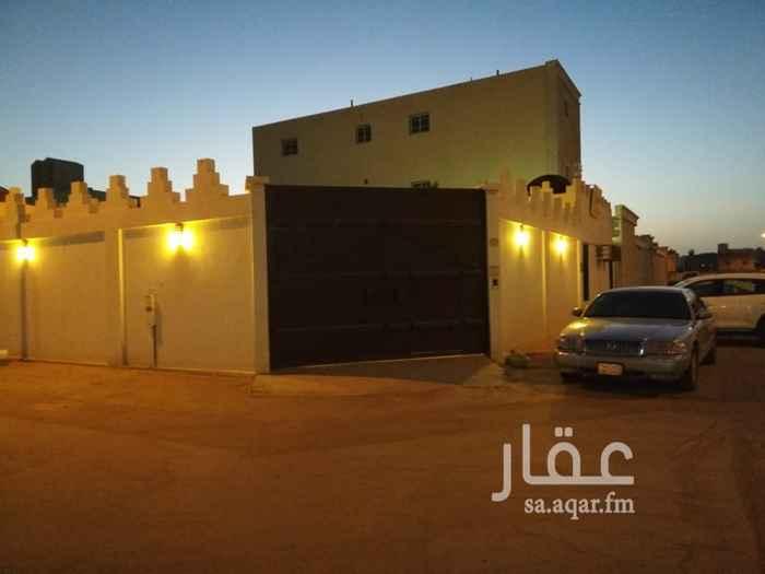 استراحة للبيع في شارع الرشاد ، حي السعادة ، الرياض