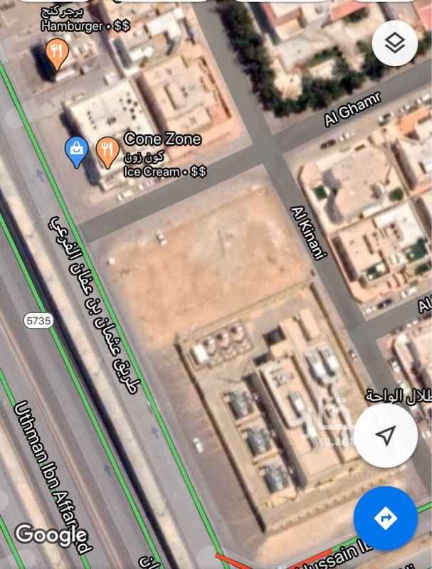 أرض للبيع في طريق عثمان بن عفان الفرعي ، حي الازدهار ، الرياض ، الرياض