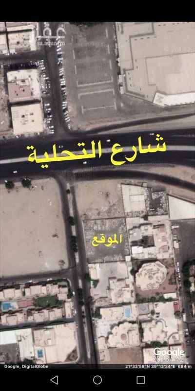 أرض للبيع في شارع عين ابن فهيد ، حي الرحاب ، جدة ، جدة