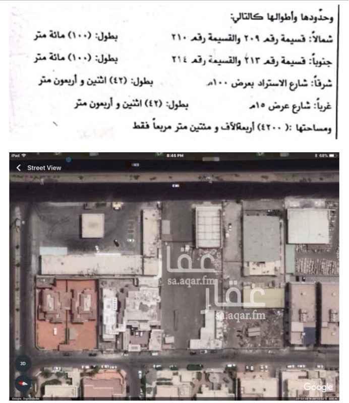 أرض للإيجار في شارع صفو ، حي الرحاب ، جدة ، جدة