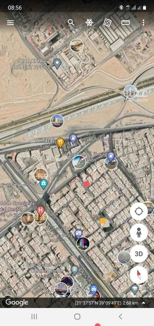 عمارة للبيع في شارع الخسفيه ، حي النزهة ، جدة ، جدة