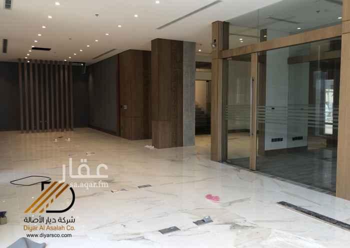 مكتب تجاري للإيجار في شارع احمد العطاس ، حي الزهراء ، جدة ، جدة