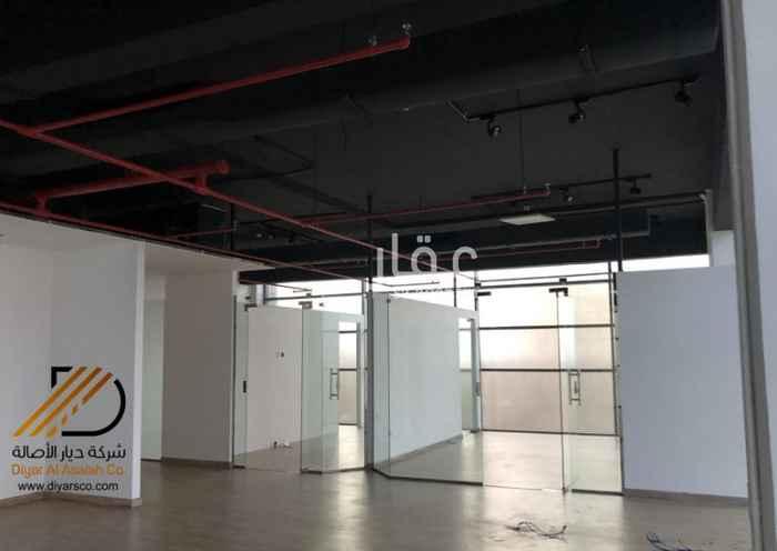 مكتب تجاري للإيجار في طريق الملك عبدالعزيز ، حي البساتين ، جدة ، جدة
