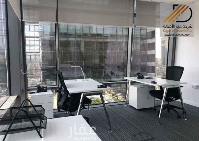 مكتب تجاري للإيجار في طريق الامير سلطان ، حي السلامة ، جدة ، جدة