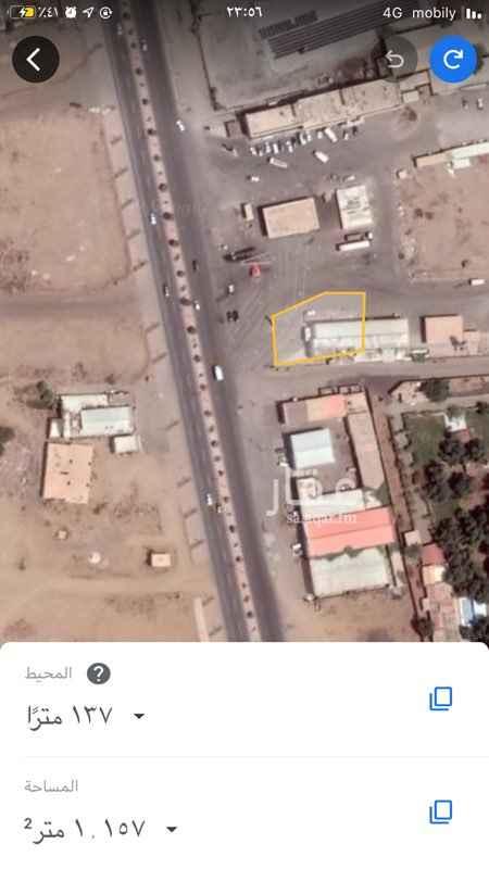 أرض للإيجار في طريق الملك عبدالعزيز ، صبيا ، صبياء