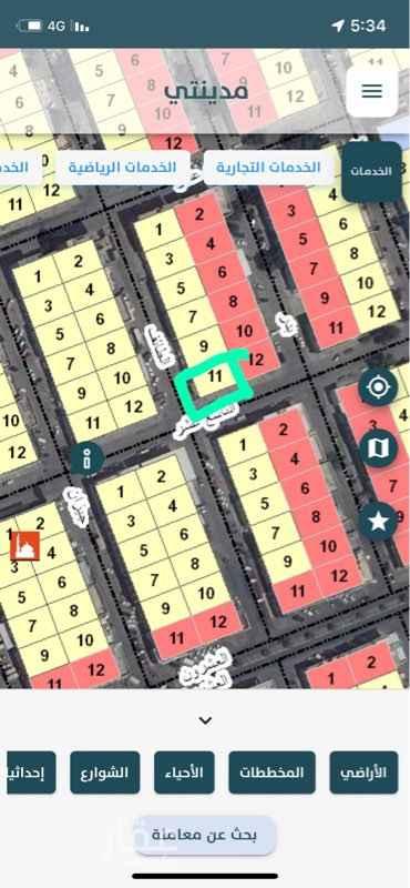 أرض للبيع في شارع الثامن عشر ، حي الثقبة ، الخبر ، الخبر