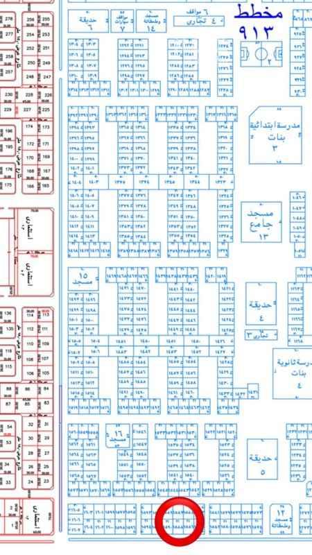أرض للبيع في المجمعة ، حي الملك عبدالله ، المجمعة