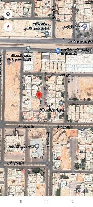 أرض للبيع في شارع جديدة ، حي الصحافة ، الرياض ، الرياض