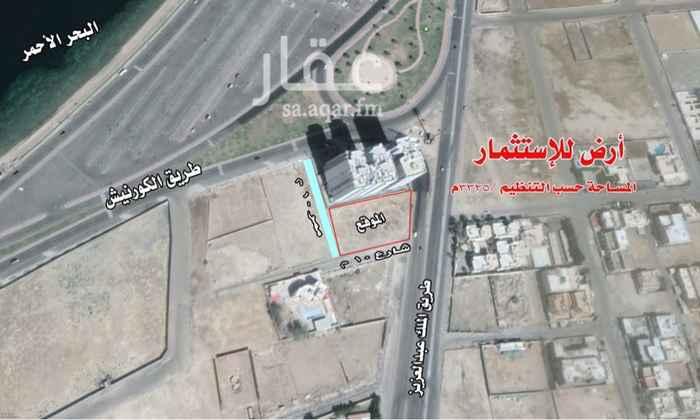 أرض للإيجار في طريق الملك عبدالعزيز ، حي ابحر الجنوبية ، جدة