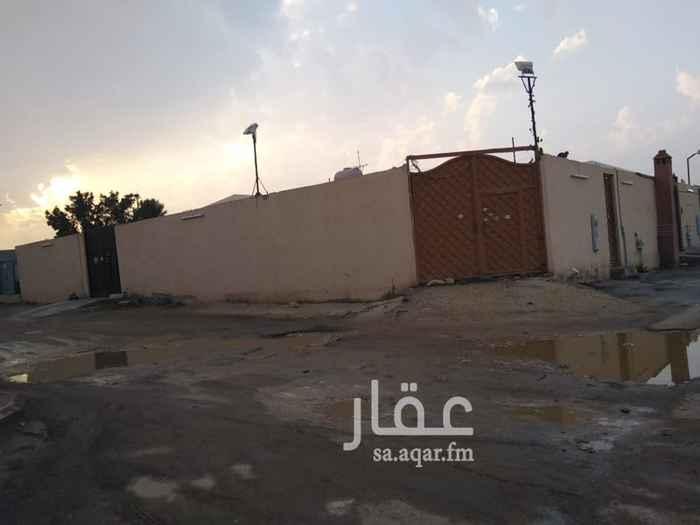استراحة للبيع في شارع ابراهيم البرهان ، حي الجنادرية ، الرياض ، الرياض
