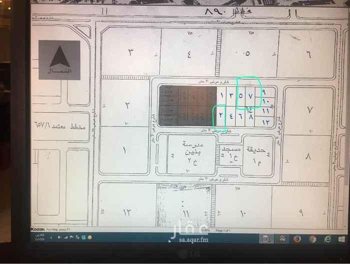 أرض للبيع في شارع 15 ب ، حي المنار ، الدمام ، الدمام