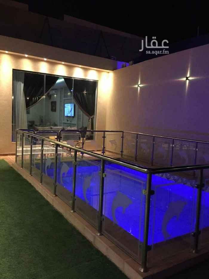 استراحة للبيع في طريق نجم الدين الأيوبي الفرعي ، حي ظهرة نمار ، الرياض ، الرياض