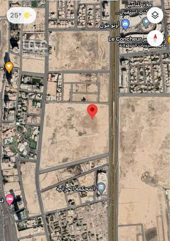 أرض للبيع في طريق الملك عبدالعزيز الفرعي ، حي الشاطئ ، جدة ، جدة