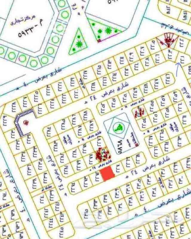 أرض للبيع في شارع ابن ظافر ، حي الملك فهد ، المدينة المنورة