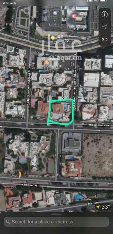 أرض للبيع في شارع عبدالرحمن باعلوي ، حي الروضة ، جدة
