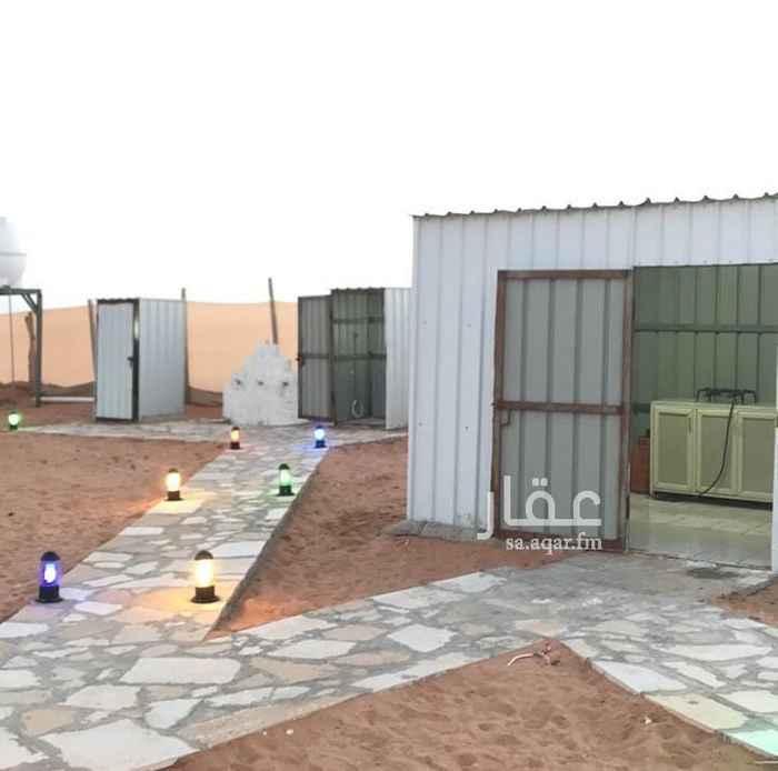 مخيم للإيجار في طريق الثمامة ، حي الرمال ، الرياض ، الرياض