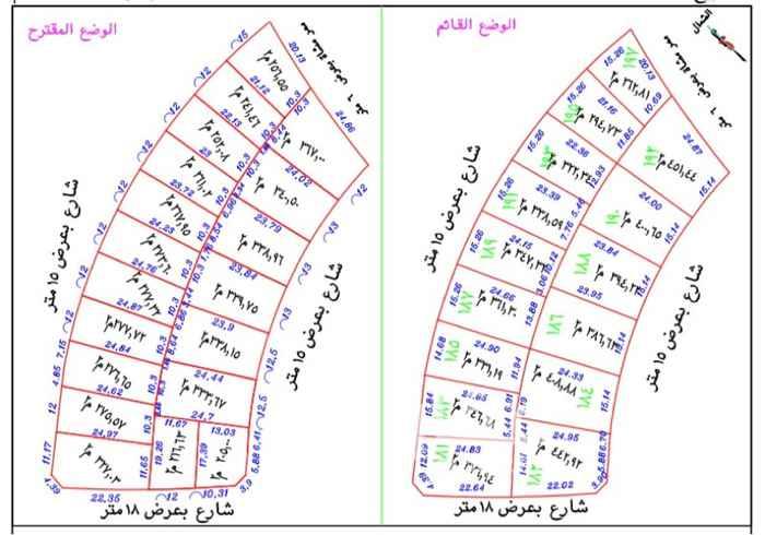 أرض للبيع في شارع تقي الدين السنجارى ، حي طيبة ، الرياض ، الرياض