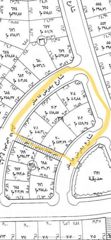أرض للبيع في شارع الغزالة ، حي طيبة ، الرياض ، الرياض