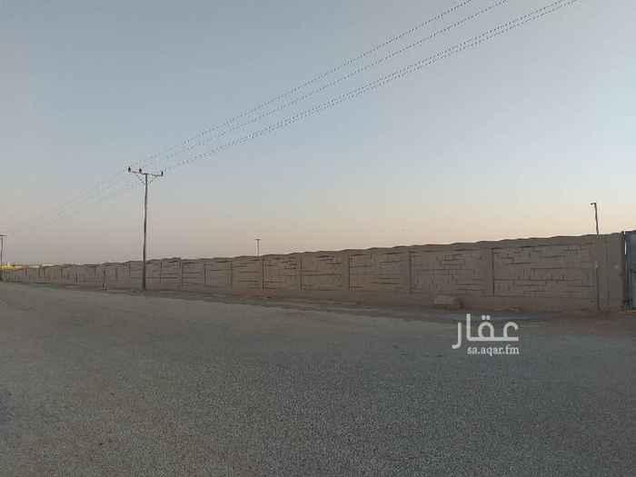 أرض للإيجار في شارع محمد بن مسلم العثيمين ، حي مطار الملك خالد ، الرياض