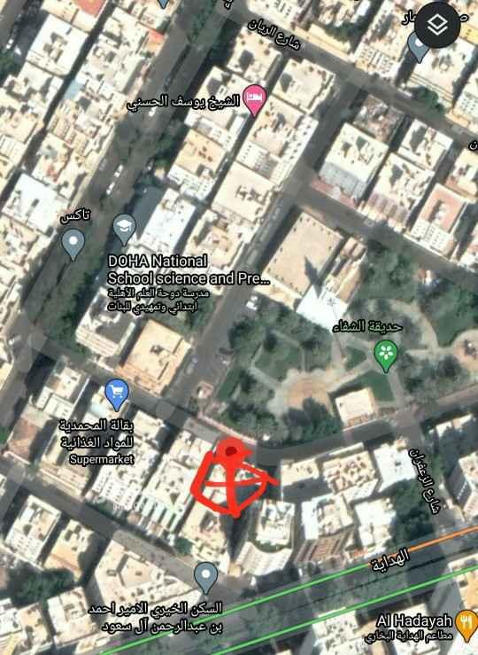 عمارة للبيع في شارع الهداية ، حي الجامعة ، مكة ، مكة المكرمة