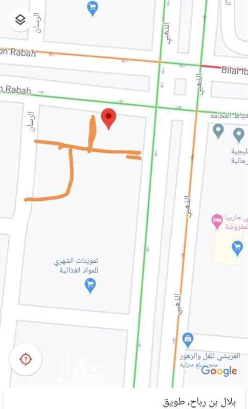 أرض للإيجار في شارع بلال بن رباح ، حي طويق ، الرياض ، الرياض