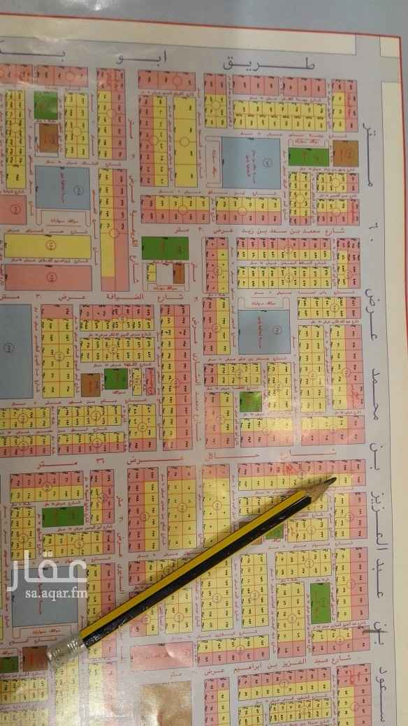 أرض للإيجار في شارع قرطاجنة ، حي الوادي ، الرياض