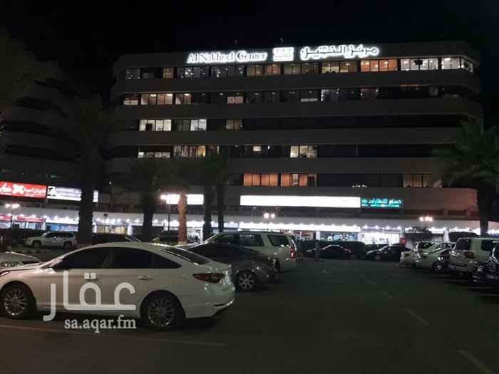 مكتب تجاري للإيجار في طريق المدينة المنورة ، حي الحمراء ، جدة