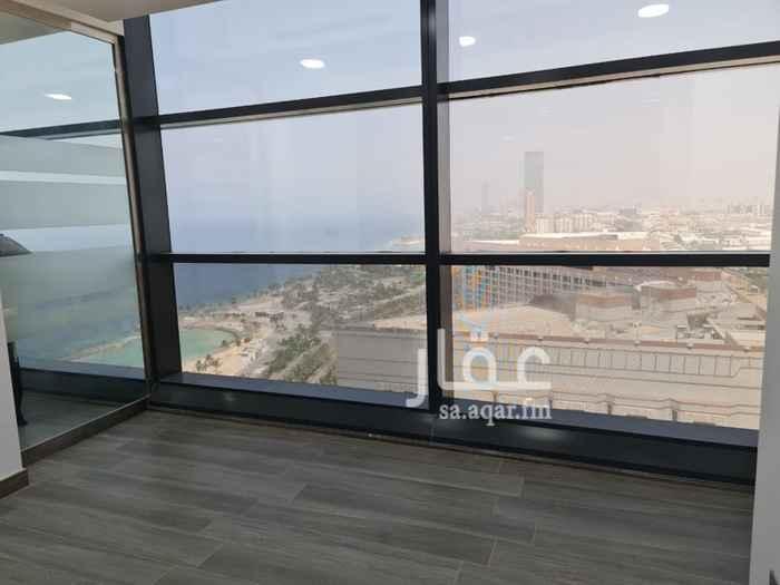 مكتب تجاري للإيجار في شارع الامير فيصل بن فهد ، حي الشاطئ ، جدة ، جدة